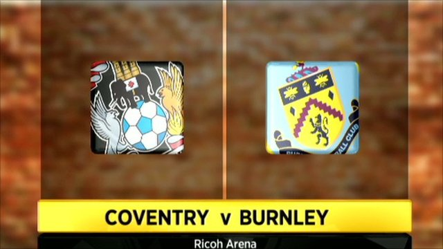 Coventry 1-0 Burnley