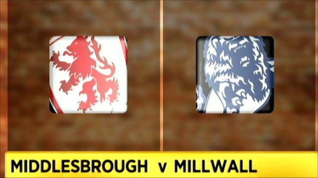 Middlesbrough 0-1 Millwall