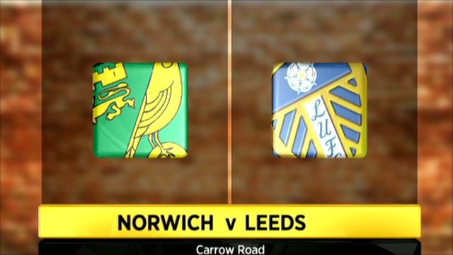 Norwich 1-1 Leeds United