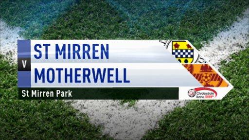 Highlights - St Mirren 1-1 Motherwell
