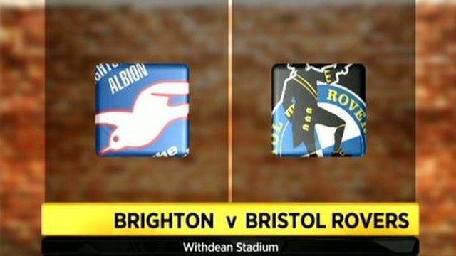 Brighton   2 - 2   Bristol Rovers