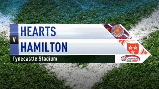 Highlights Hearts 2-0 Hamilton
