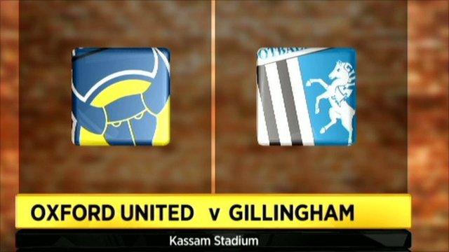 Oxford Utd 0-1 Gillingham