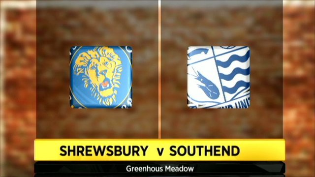 Shrewsbury 1-1 Southend