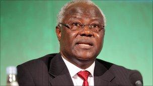 President Ernest Bai Koroma of Sierra Leone