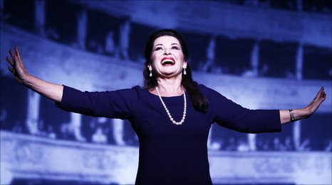 Stephanie Beacham as Maria Callas in Master Class