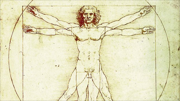 Da Vinci&#039;s Vitruvian Man