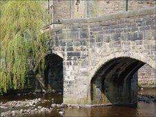 The bridge at Hebden