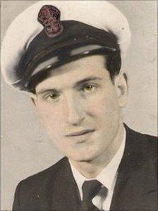 Douglas Hern, 1957. Pic: Douglas Hern