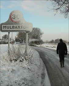 Winter in Mulbarton by Susan Stirling