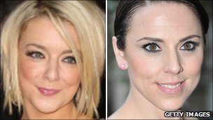 Sheridan Smith and Melanie Chisholm