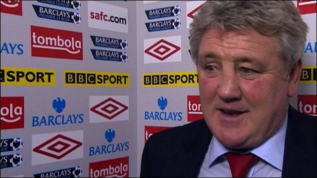 Sunderland boss Steve Bruce satisfied with Everton draw