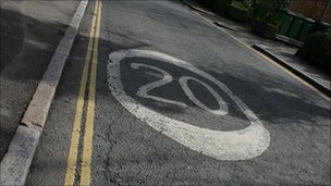 20mph speed limit