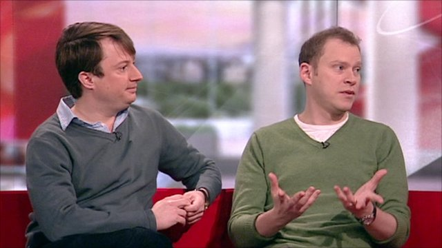Peep Show on BBC Breakfast