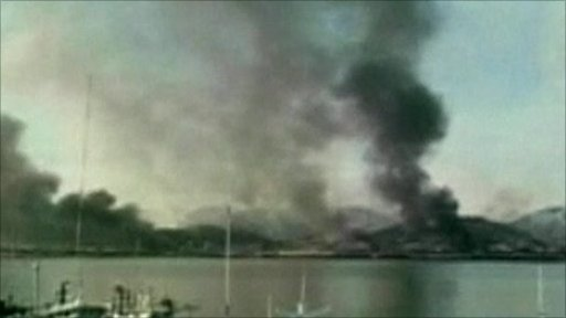 Korea clashes