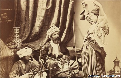 Pasha and Bayadere by Roger Fenton (1858). Courtesy of the National Media Museum
