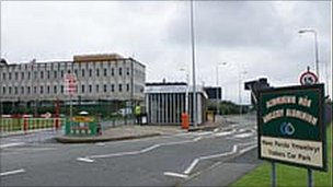 The entrance into the Penrhos Works