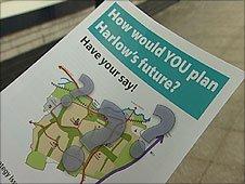 Harlow Council consultation leaflet