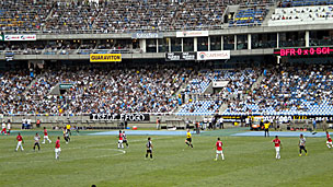 Rio club Botafogo playing Internacional in the Brazilian league in November