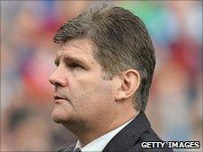 Burnley boss Brian Laws