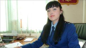 Vladivostok Prosecutor spokeswoman Avrora Rimskaya