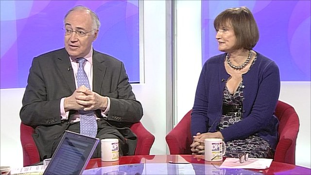 Lord Howard and Tessa Jowell