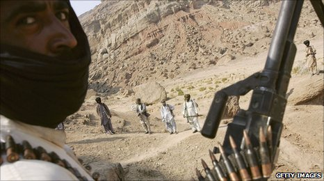 Rebels in Balochistan (file pic)