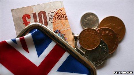 Деньги Великобритании.