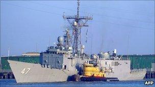 USS Nicholas, file image