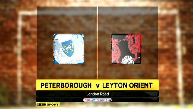 Peterborough 2-2 Leyton Orient
