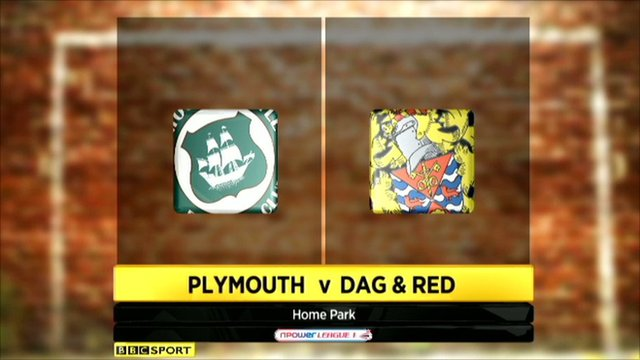 Highlights - Plymouth 2-1 Dag & Red
