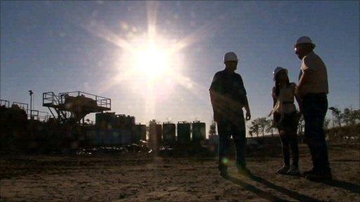 Oil drilling in North Dakota