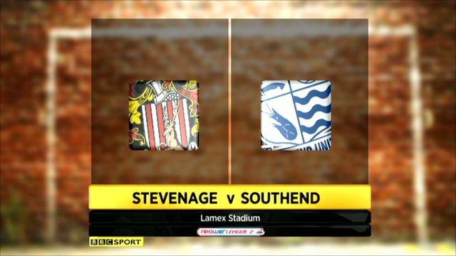 Highlights - Stevenage 1-1 Southend