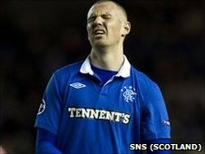 Rangers striker Kenny Miller