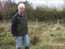 Tony Warburton, president of the World Owl Trust