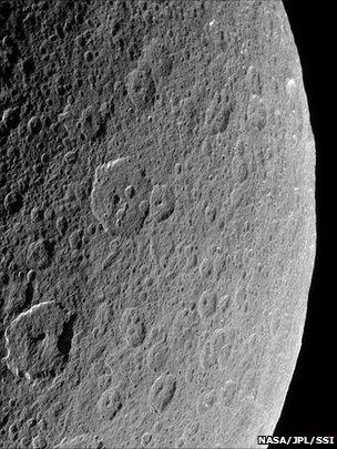 Rhea (Nasa/JPL/SSI)