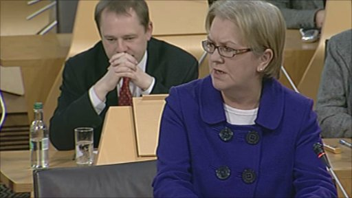 Labour's Johann Lamont leads a debate on the Scottish government's draft budget.