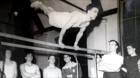 Frank Turner was captain of the British Gymnastic Team, 1948.