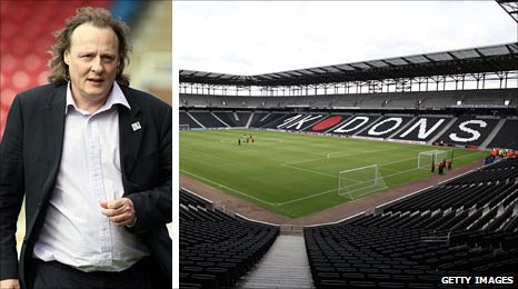 Pete Winkelman (left) and Stadium:mk