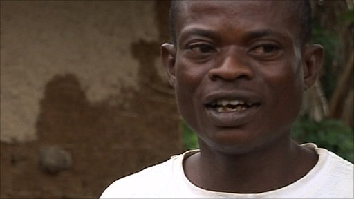 Male rape victim in DR Congo