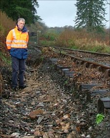 The railway's general manager, Richard Jones