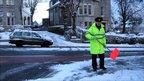 Traffic warden in Aberdeen