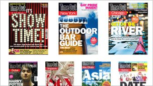 Some of Time Out&#039;s magazines