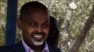Mogadishu mayor Mohamed Ahmed Noor