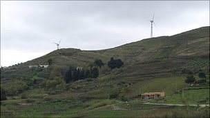 Wind Farms in Camporeale