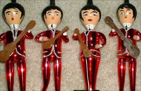 Beatles Xmas memorabilia