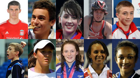 Young SPOTY Top 10