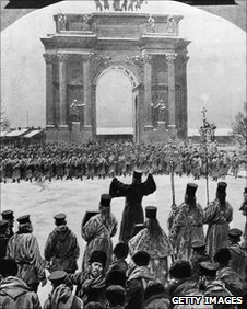 Winter Palace demonstration 1905