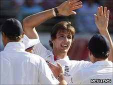 Steven Finn enjoys late success