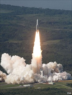 Ariane 5 lift-off